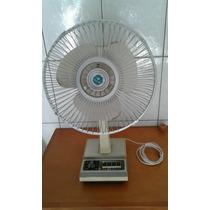 Antigo Ventilador Sanyo Oscillator 3 Speed Fan (ler Anuncio)