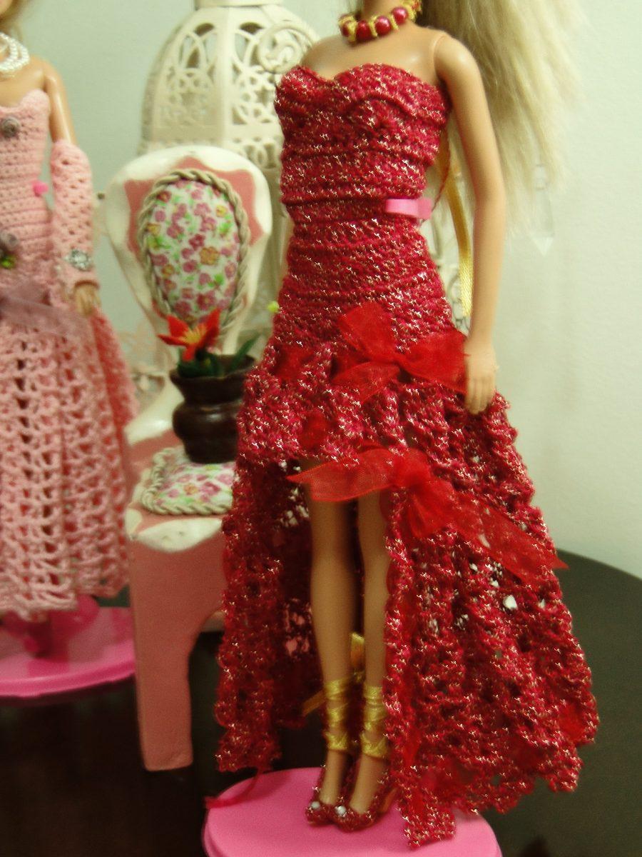 lovely pineapple dress for a Barbie doll / Crochet - free ...
