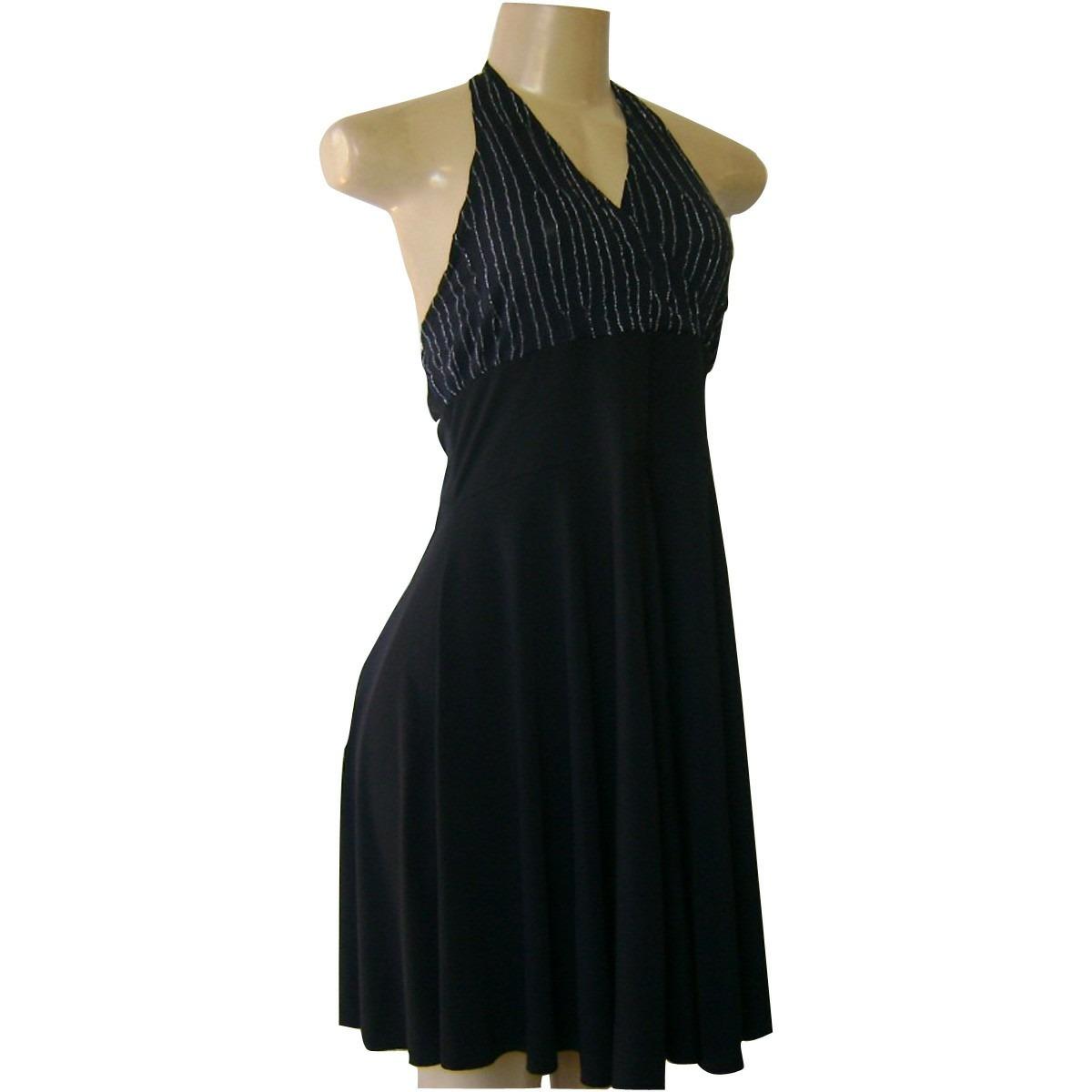 Bolsa De Festa Com Vestido Preto : Vestido preto brilhante modelo frente unica balada festa