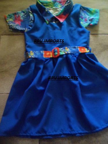Vestido , Uniforme Da Novela Chiquititas - Modelo 2013
