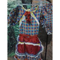 Vestido Festa Junina Com Calça