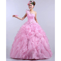 Vestido De Festa Debutante 15 Anos Dama De Honra Formatura