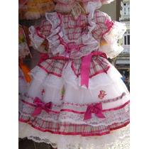 Vestidos De Festa Junina Ja Enfeitados 0 À 6 Anos Lindos