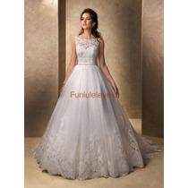 Vestido De Noiva Branco Casamento