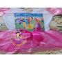 Vestido Fantasia Roupa Aniversário Princesas Disney