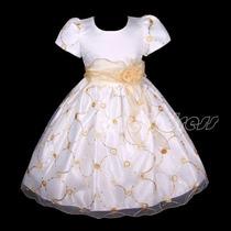 Vestido Festa Infantil Importado ( 4,5 E 8 Anos)
