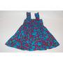 Vestido Azul Estampado - Maria Bonitinha By Maria Bonita - 2