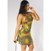 Vestido Frente Única Soltinho Est. Labellamafia Juju Panicat