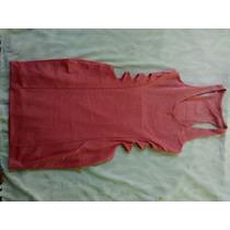 Vestido Curto Com Aberturas Laterais - Tamanho M