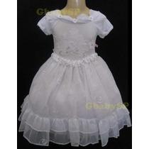 Vestido Festa Infantil Princesa Dama Honra Casamento Luxo