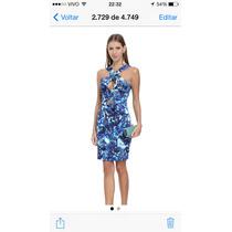 Lindo Vestido Fabulous Agilitá! Azul! Novo!