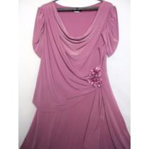 Vestido Senhoras De Festa Madrinha Discreto E Elegante