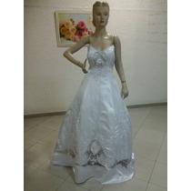 Vestido De Noiva Branco Organza Na103