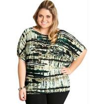Blusa Plus Size Liganete, Kit C/10 Para Revenda
