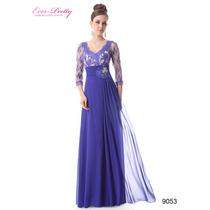 Espetacular Vestido Importado Ever Pretty 9053 - No Brasil