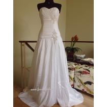 Belo Vestido De Noiva. Mod. Júlia. Tam 40/42