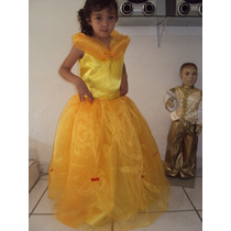 Fantasia Infantil Princesa Bela