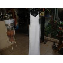 Lindo Vestido Em Crepe - Grife Marlene Franco - T 42