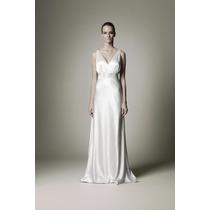 Vestido De Noiva Estilo Grego Em Cetim Com Lycra Sob Medida