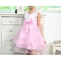 Vestido De Festa Infantil Casamento Aniversário Formatura
