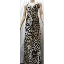 Vestido Feminino Longo Maxi Verao Florido Estampado Colorido