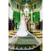 Véu Mantilha De Noiva/ Branco E Off White