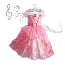 Fantasia Princesas Disney Aurora Bela Adormecida Musical