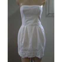 Liquidação !! Vestido Laise Branco Hollister (original)