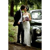 Vestido De Noiva Tomara-que-caia - Importado ( U S A)