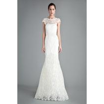 Vestido Eg Importado Longo Sereia Muito Elegante Noiva Renda