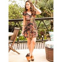 Vestido Viscolycra Vestidinho Moda Verão Leve