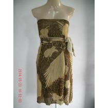 Vestido Tomara-que-caia - Cais Brasil Tam; G R$ 40,00