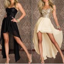 Lindo Vestido Em Suplex Com Tule E Renda Guipir