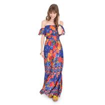 Vestido Longo Dress To Floral - Tenho Vestido Farm