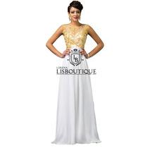 Vestido Branco Ano Novo Festa Reveillon Noiva Pronta Entrega