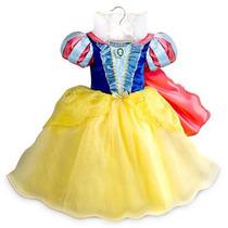 Fantasia Branca De Neve Oficial Disney Pronta Entrega