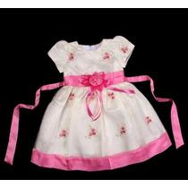 Vestido Festa Infantil 9 Meses Aniversário, Dama, Florista