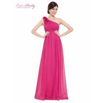 Vestido De Festa Pink/casamento/madrinha/formatura/15 Anos
