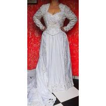 Vendo Vestido De Noiva Completo Usado Uma Unica Vez.