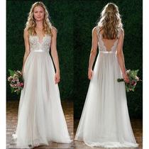Vestido Noiva Civil Importado