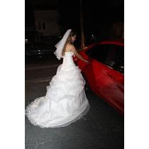 Vestido De Noiva Organza Branco A Pronta Entrega No Brasil