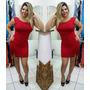 Vestido Feminino Liso Six One Ref 0123