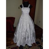 Vestido Noiva Bordado Seda Casamento