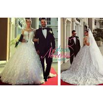 Vestido Noiva Princesa Renda P Pronta Entrega Gratis Enfeite