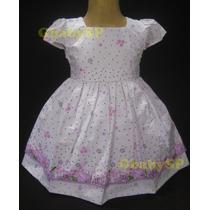 Vestido Infantil Princesa Com Bolero / Casaquinho Criança