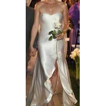 Vestido De Noiva De Luxo. Fenda Avassaldora! Um Vestido Mara