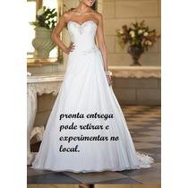 Vestido De Noiva Dama 15 Anos Pronta Entrega Podendo Retirar