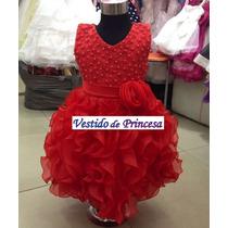Vestido Festa Infantil Daminha - Pronta Entrega