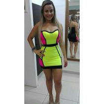 Vestidos 3d - Curto - Justo - Foto Original