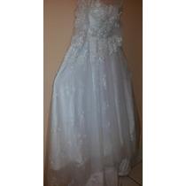 Vestido Casamento Renda Cauda Pronta Entrega Frete Grátis